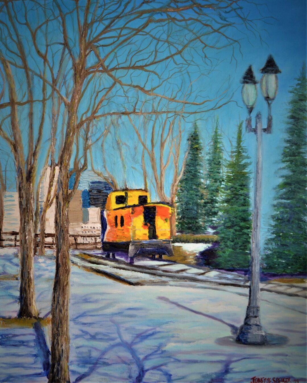Train Edmonton